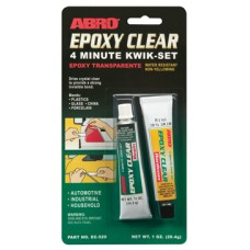 Epoxy Clear 4 minute Quick Set Tubes - Cola Rapida